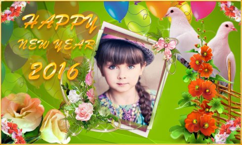 New Year Photo Frames 2016 screenshot 2