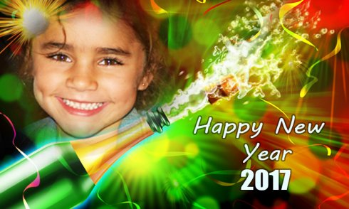 New Year Photo Frames 2017 free app download - Android Freeware