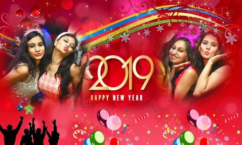 New Year Photo Frames Dual 2019 screenshot 2