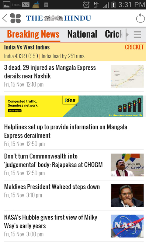 NewsHunt India News eBooks screenshot 1