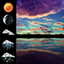 Download Night Sky Weather Widget for Android phone