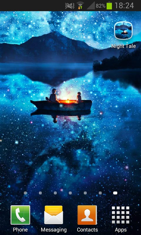 night tale free live wallpaper free app download android