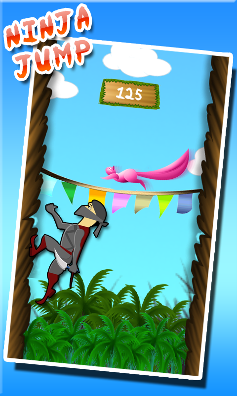 Download Ninja Jump Deluxe 3D Games free for your Android phone