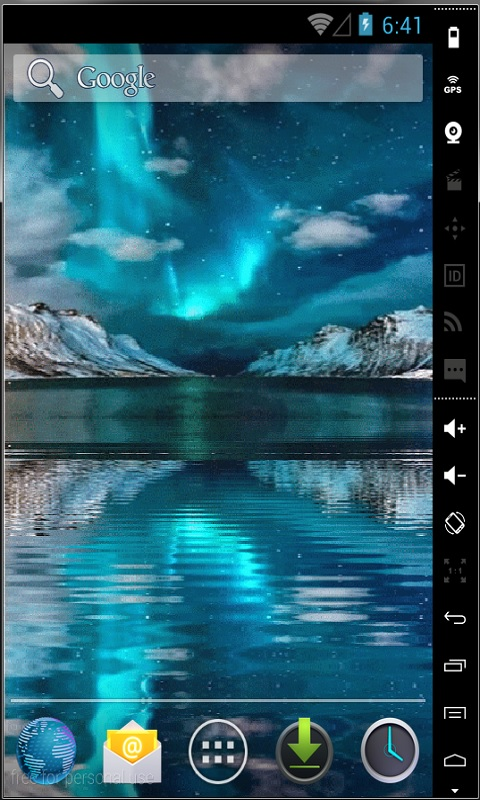 Northern Lights Final Live Wallpaper Android App - Free ...