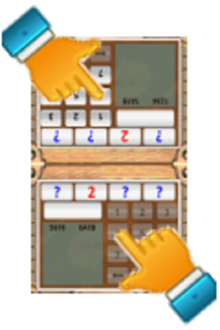 Number Guess 1A2B - Two Players screenshot 2