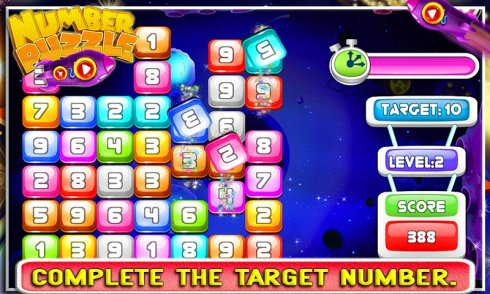 Number Puzzle screenshot 2