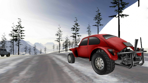 Off-Road Racer 3D game screenshot 1