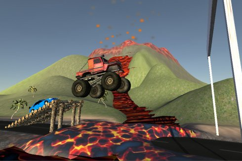 Off-Road Racer 3D game screenshot 2