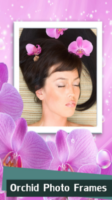 Orchid Photo Frames Free screenshot 1