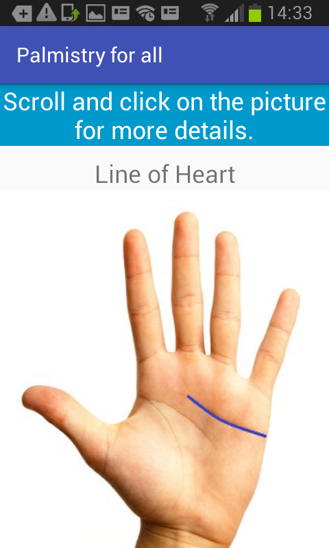 Palmistry for All free app download - Android Freeware