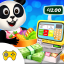 Download Pandas Supermarket Shopping Fun APK app free