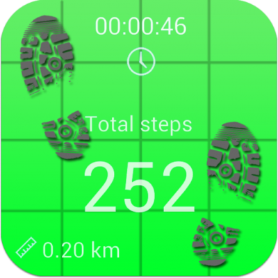 Image of  Pedometer and step counter
