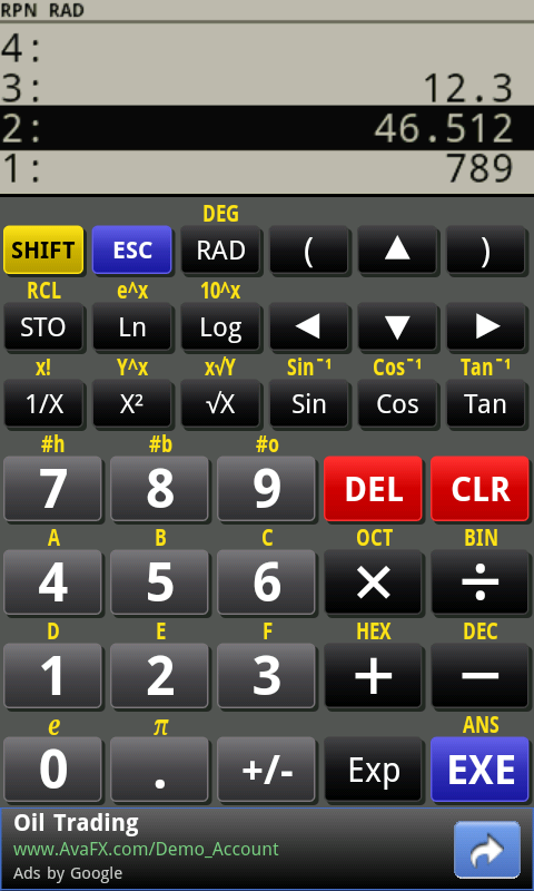 PG Calculator screenshot 2