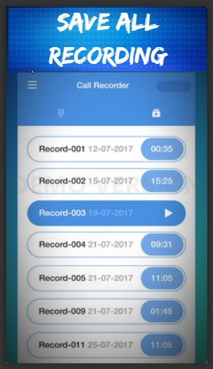 Phone Call Recorder - Automatic Call Recording screenshot 2