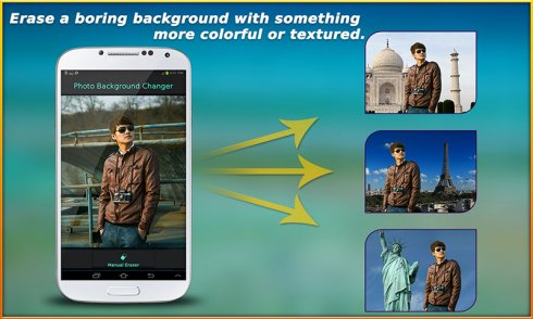 Photo Background Changer free app download for Android