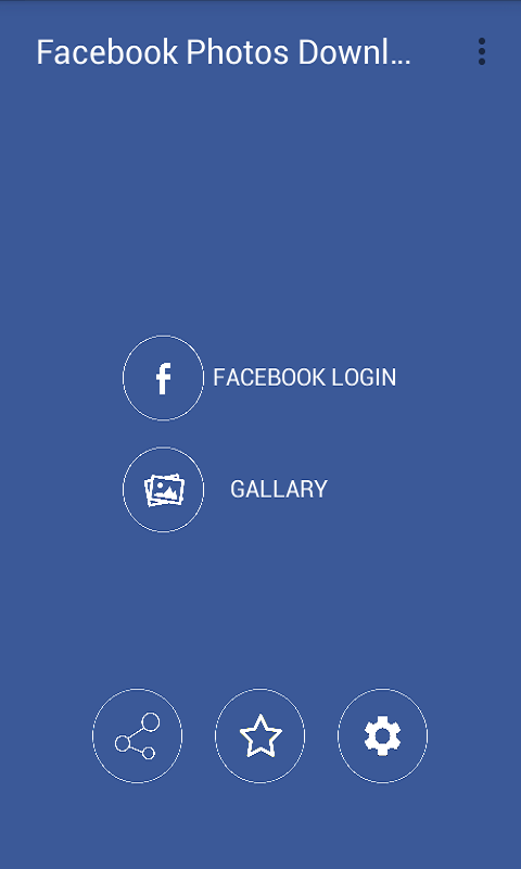 how to download a photo facebook app