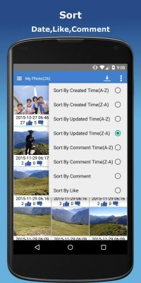 Photo Finder for Facebook - Edit,Download,Upload screenshot 2