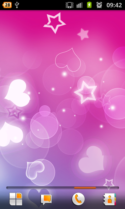 Pink hearts live wallpaper free android app android freeware download pink hearts live wallpaper free for your android phone voltagebd Gallery