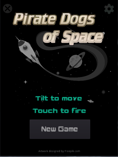 Pirate Dogs of Space screenshot 1