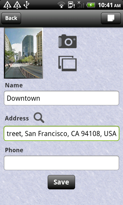 Places Record Check In And Share Free Android App