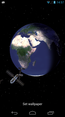 Planet Earth 3D Live Wallpaper Android App - Free APK by ...