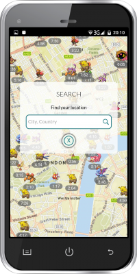 Pokemap Go and Find Pokemon screenshot 2