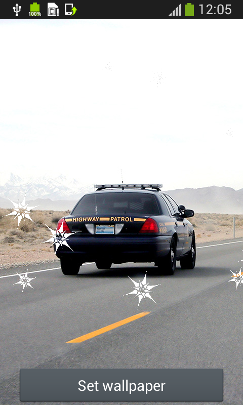 Download Police Car Live Wallpapers Free For Your Android Phone