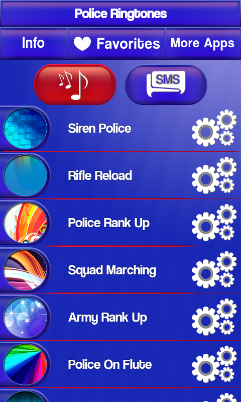 Police Ringtones New screenshot 2