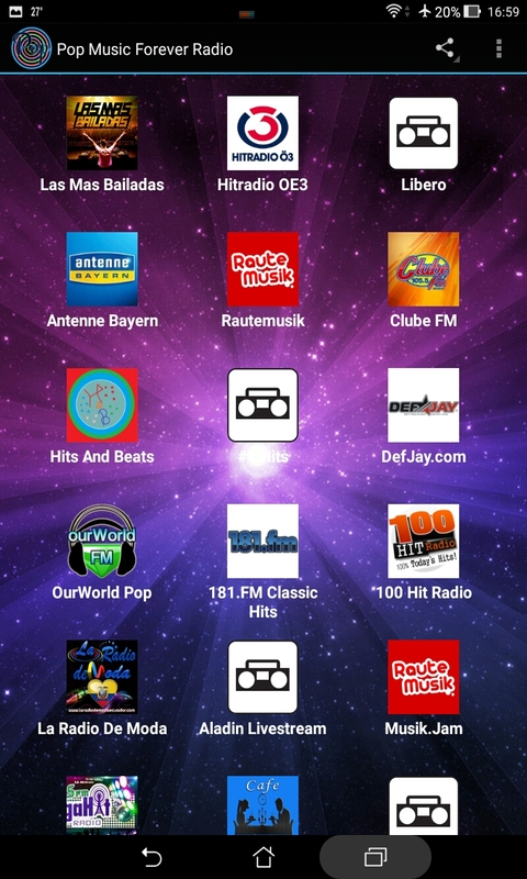 Pop Music Forever Radio screenshot 1