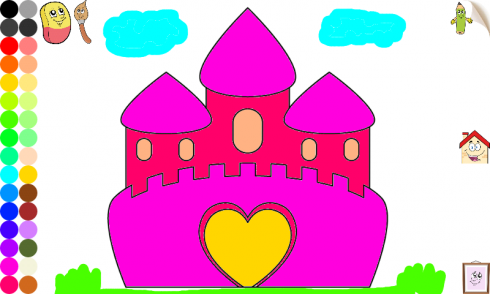 download princess coloring games girls - Coloring Games For Girls