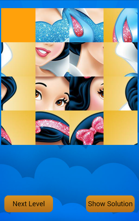 Princess Puzzle 15 screenshot 1
