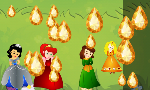 Princesses Puzzle for Toddlers screenshot 2