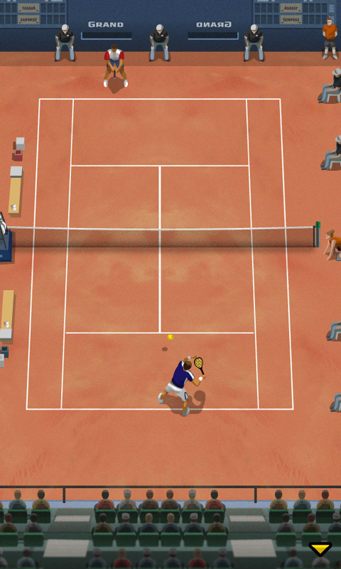 Pro Tennis 2013 screenshot 1