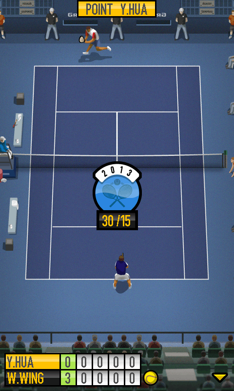 Pro Tennis 2013 screenshot 2