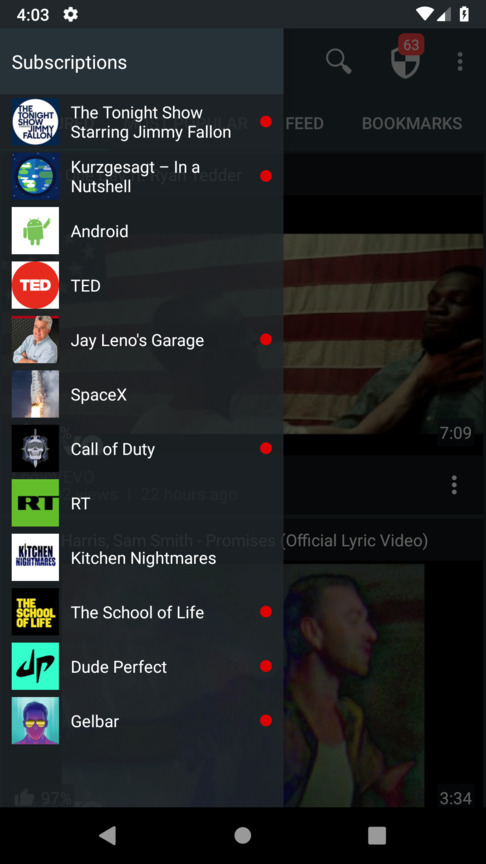 ProTube youtube video downloader for Android - Download