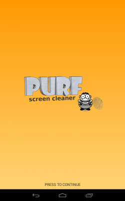 Purf Screen Cleaner tangkapan layar 1