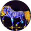 Download Purple Horse Live Wallpaper for Android phone