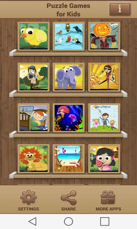 Puzzle Games for Kids screenshot 1