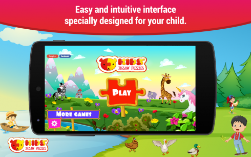 Puzzles for kids screenshot 1