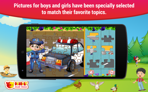 Puzzles for kids screenshot 2