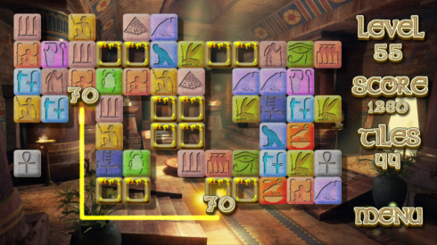 Pyramid Mystery Solitaire screenshot 1
