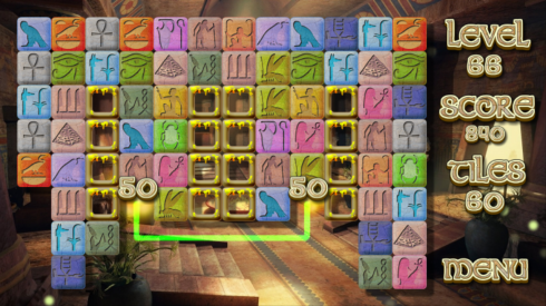 Pyramid Mystery Solitaire screenshot 2