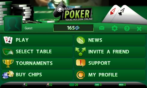 Qplaze Poker captura de tela 1