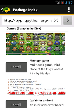 QPython Player for Android for Android - Download