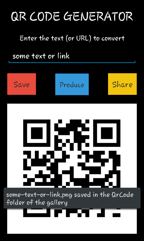 QR Code Generator for Android - Download