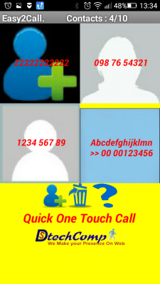 Quick One Touch Call screenshot 2