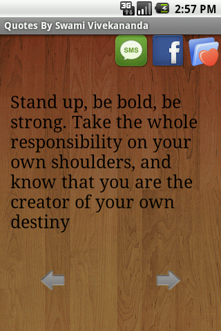 quotes on you. Favourites icon - Finally you can mark the quotes that you like as