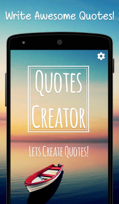 Quotes Creator screenshot 1