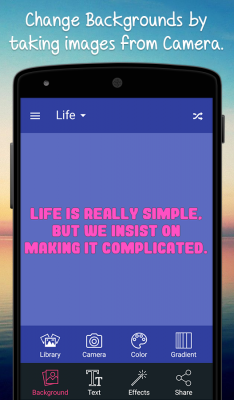 Quotes Creator screenshot 2