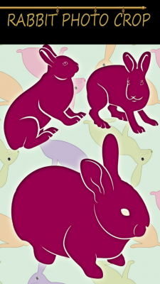 Rabbit Photo Crop screenshot 1